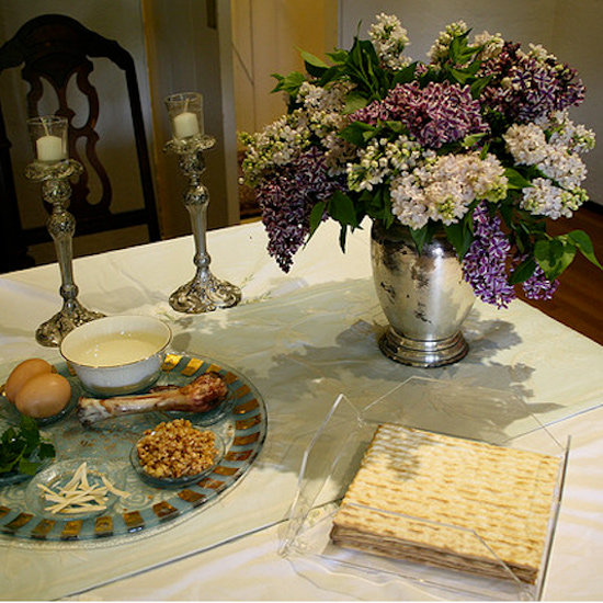 Traditional and Modern Passover Seder Decor