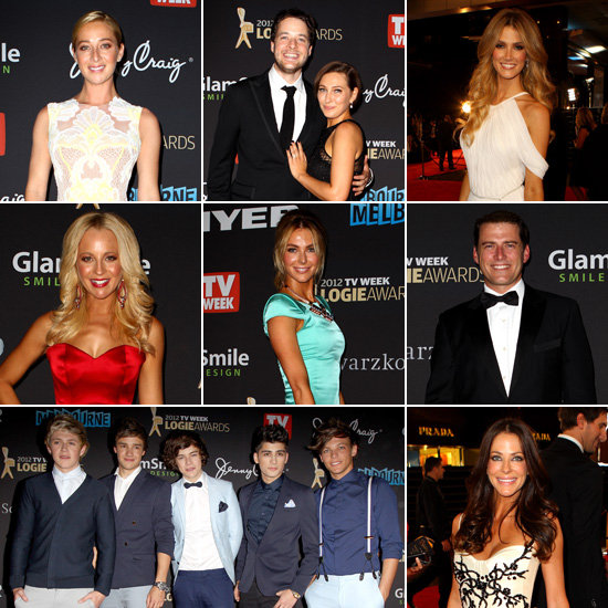 Australian TV Stars Step Out in Glamorous Style on the 2012 Logies Red Carpet