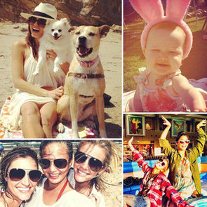 Celebrities Share Pictures on Easter 2012