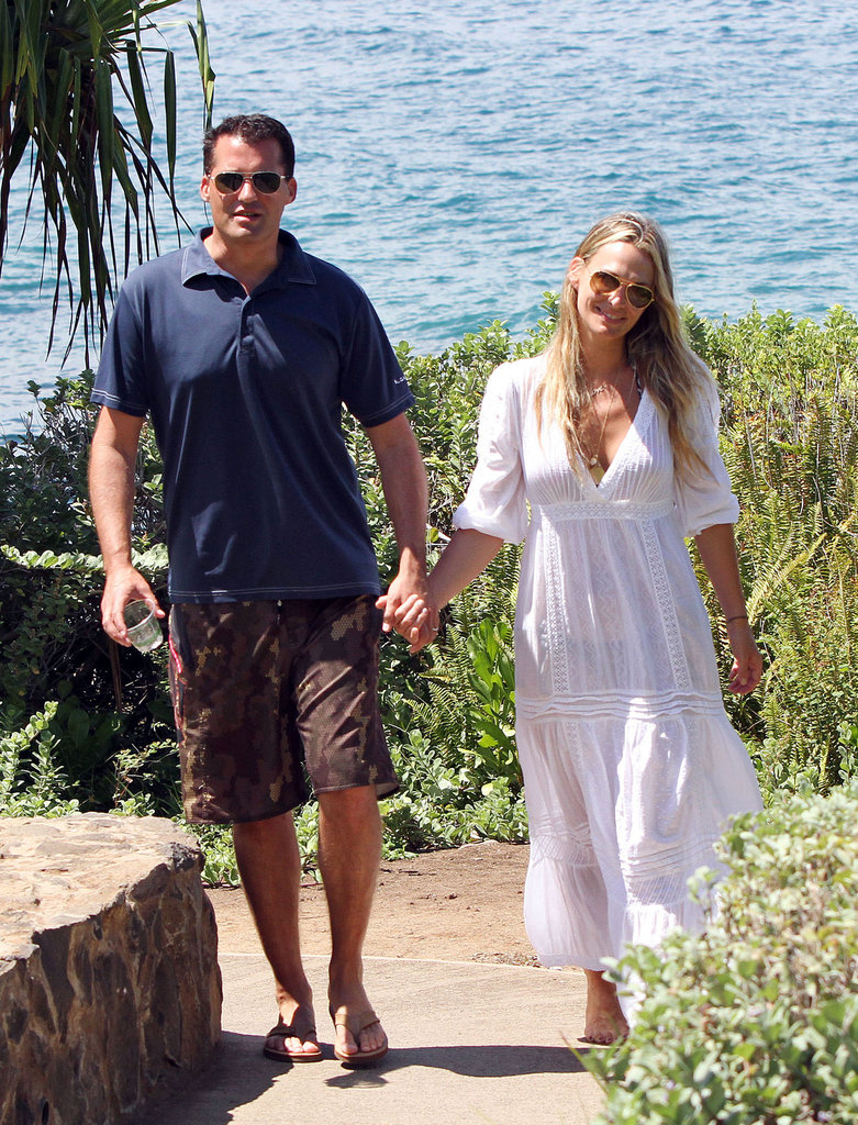 """Molly Sims and Scott Stuber got away to Maui after their September 2011 nuptials. A few months later they announced Molly was expecting a """"honeymoon baby!"""""""