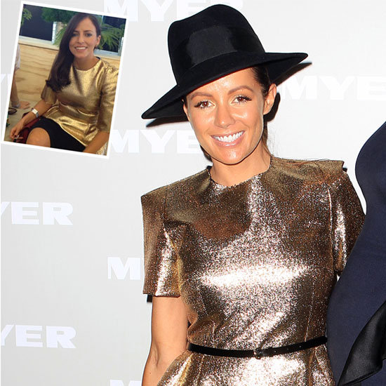 Kelly Smythe and Wippa's Girlfriend Lisa Robertson Wear the Same Ellery Top to AAMI Golden Slipper: Thoughts?