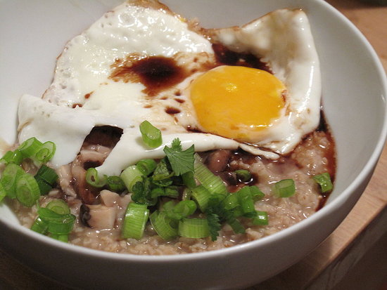 Savory Asian Oatmeal