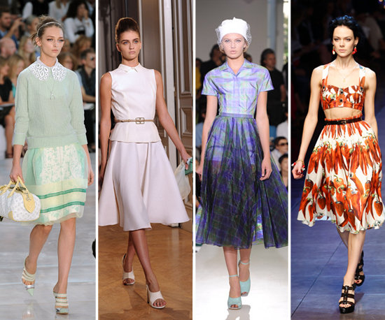 Spring Shopping: It's Time For a Skirt so Full It Swishes
