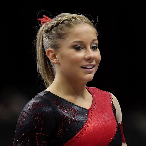 Shawn Johnson Trains at Camp For the 2012 Olympics