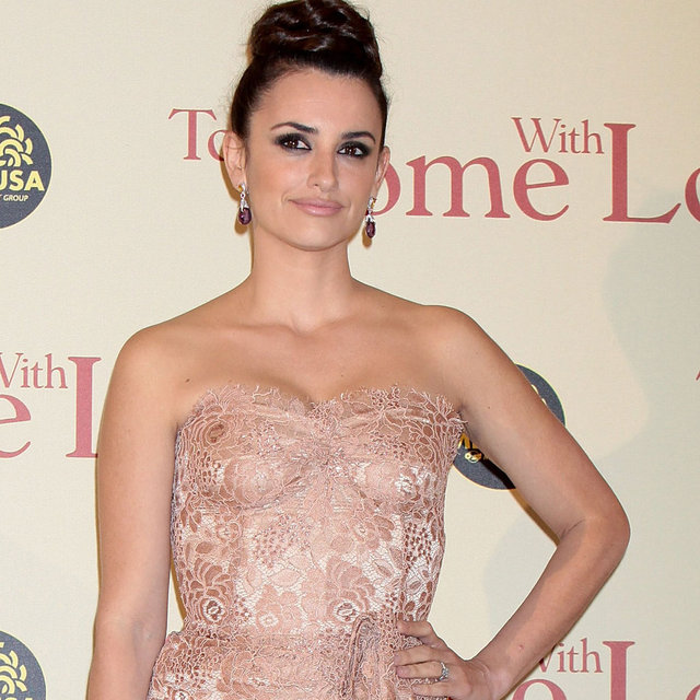 Penelope Cruz At The Premiere Of To Rome With Love