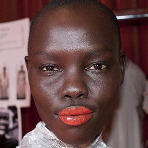How to Wear Orange Lipstick and Gloss