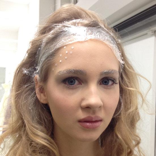Angel Sanchez Silver Bridal Hair and Makeup