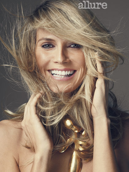 Heidi Klum photographed by Norman Jean Roy for Allure