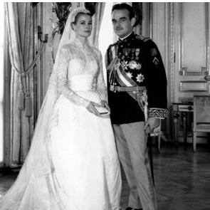 Pictures of Grace Kelly's Royal Wedding