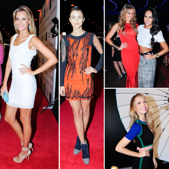 Party Pics! Celebrities Frock up for the 2012 Cleo Bachelor of the Year Party Red Carpet: Jesinta Campbell, Hayden Quinn & More