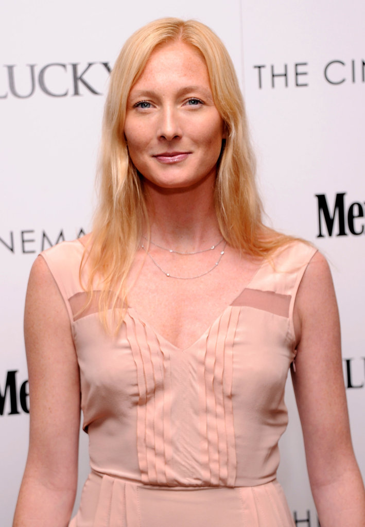 Maggie Rizer attended the Cinema Society and Men's Health screening of The Lucky One in NYC.