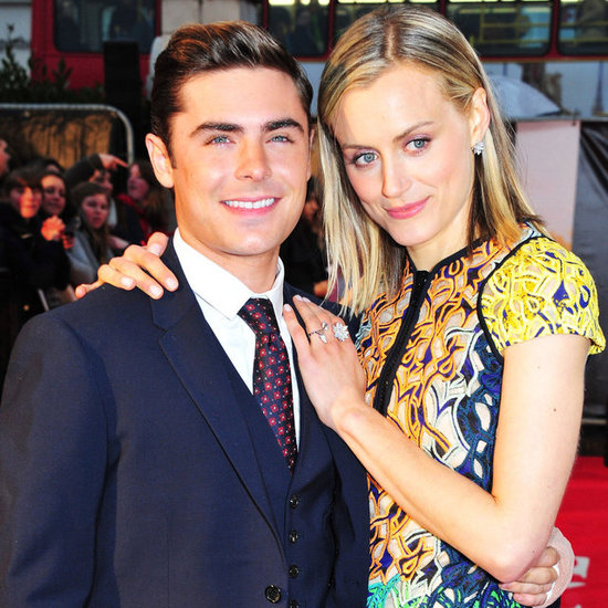 Zac Efron and Taylor Schilling Pictures at London Premiere of The Lucky One