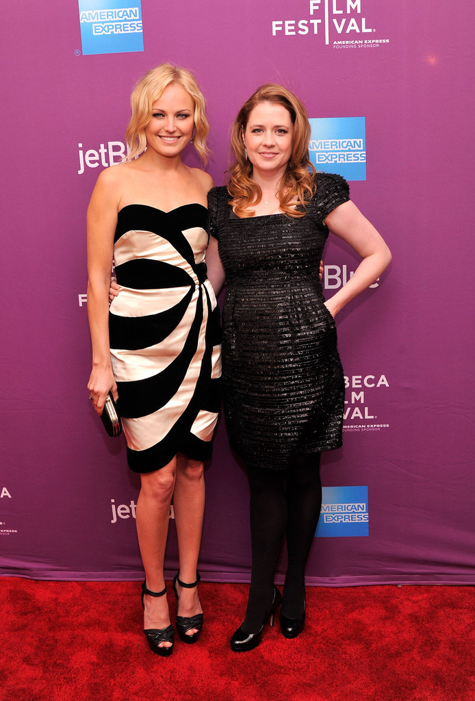 Malin Akerman and Jenna Fischer Debut Their Giant Mechanical Man at Tribeca
