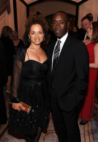 Bridgid Coulter and Don Cheadle