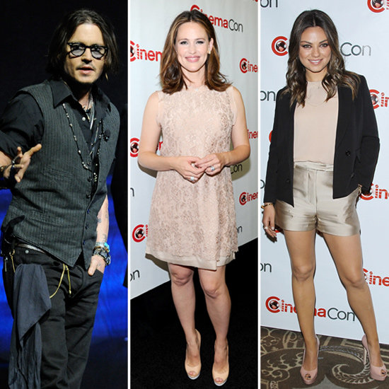 Johnny Depp, Jennifer Garner and Mila Kunis Light Up CinemaCon!