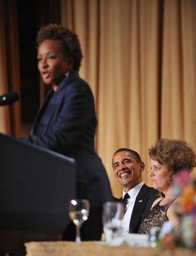 Barack, Jennifer, and Wanda