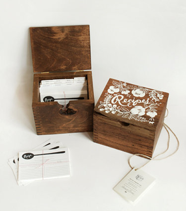 Rifle Paper Co.'s Recipe Box ($135)
