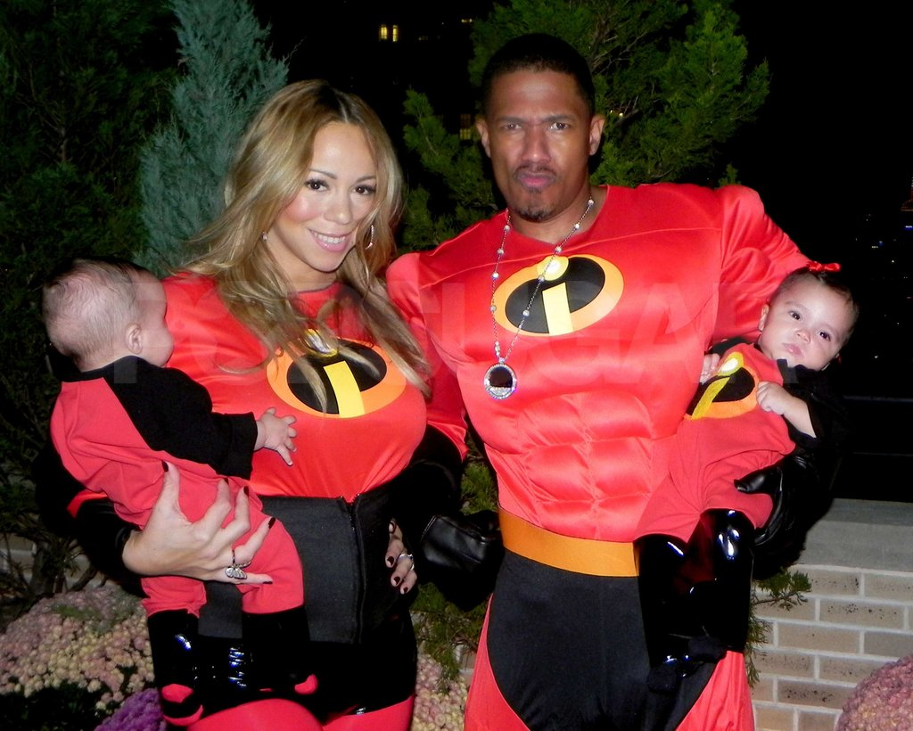Mariah Carey and Nick Cannon took their twins Monroe Cannon and