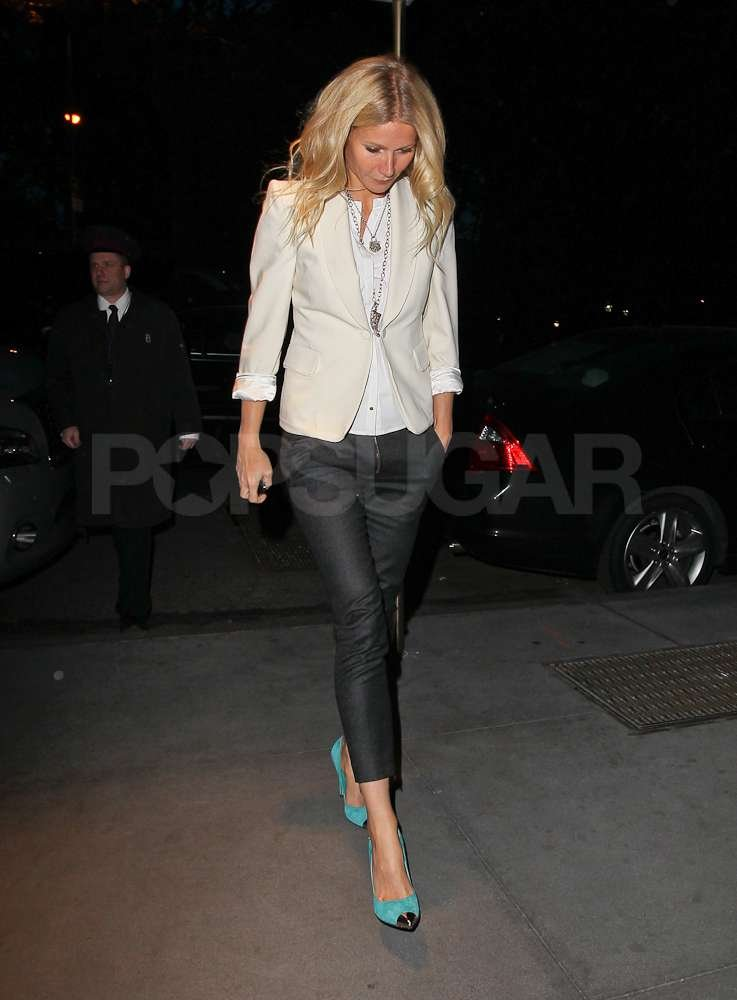 Gwyneth Paltrow was out and about in NYC.