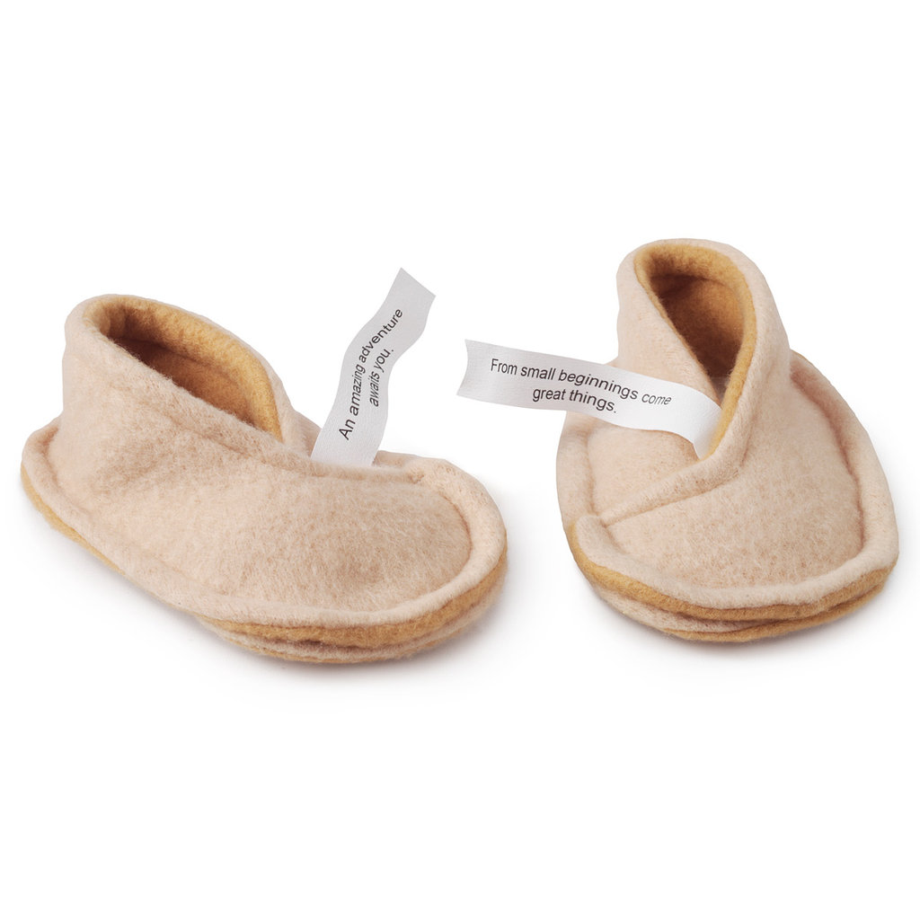 For a Surprise: UncommonGoods Fortune Cookie Slippers