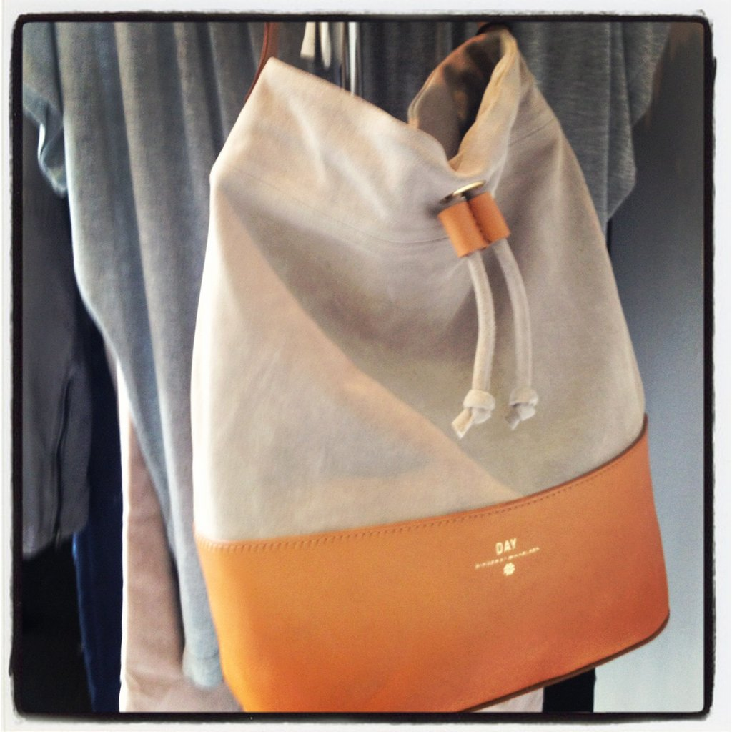 We fell hard for this knapsack-style DAY Birger et Mikkelsen bag at the Maudella showings.