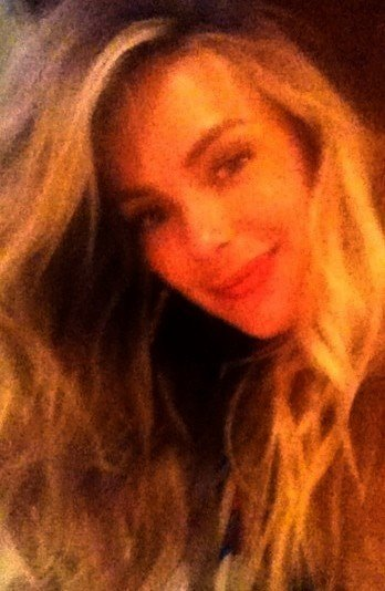 Jennifer Hawkins showed off her gorgeous curls in a self-portrait. Source: Twitter User jen__hawkins