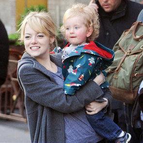 Emma Stone and Andrew Garfield With Baby Pictures
