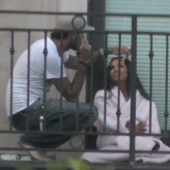 Eva Longoria and Eduardo Cruz in LA Video