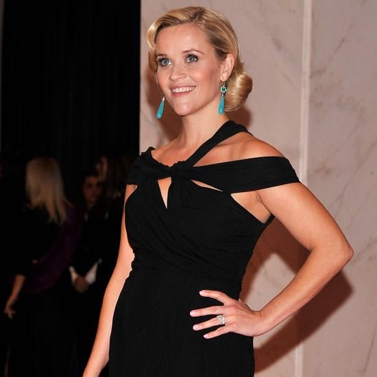 Reese Witherspoon Baby Bump at White House Correspondents Dinner (Video)