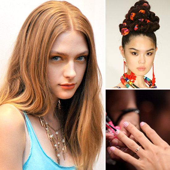 Nail Salons And Trendy Hair: Spring Hair, Makeup, And Nail Trends 2012