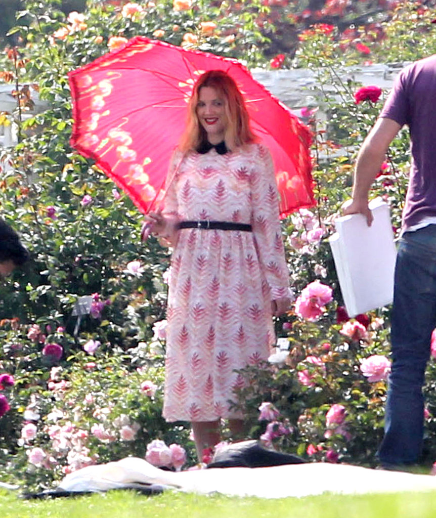 Drew Barrymore Preps For a Wedding —and a New Wine