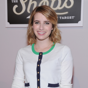 Emma Roberts in Webster at Shops at Target Launch
