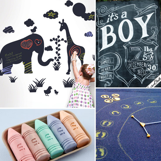 8 Chalk-Tastic Finds For Moms and Tots