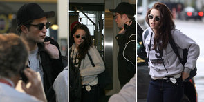 Robert Pattinson and Kristen Stewart Say Bye to Breaking Dawn Reshoots and Vancouver