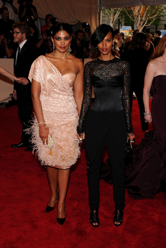 Rachel Roy and Liya Kebede