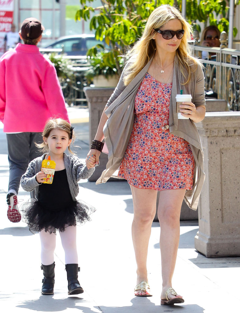 Sarah Michelle Gellar and daughter Charlotte walked to a ballet class in LA.