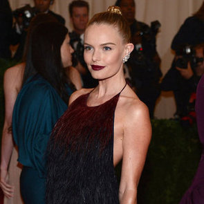 Kate Bosworth in Feathered Prada Pictures 2012 Met Gala