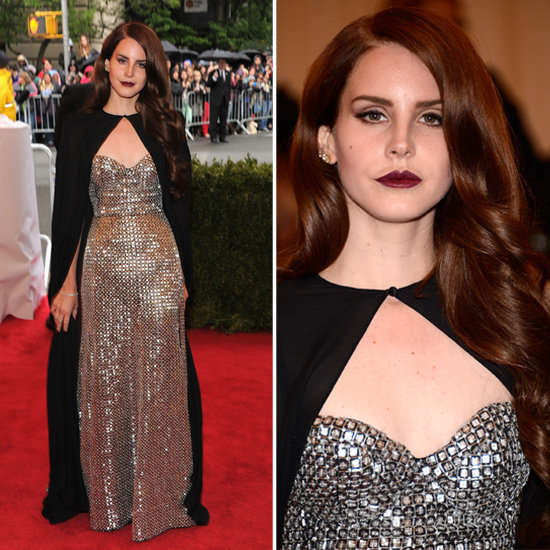 Lana Del Rey at Met Gala 2012