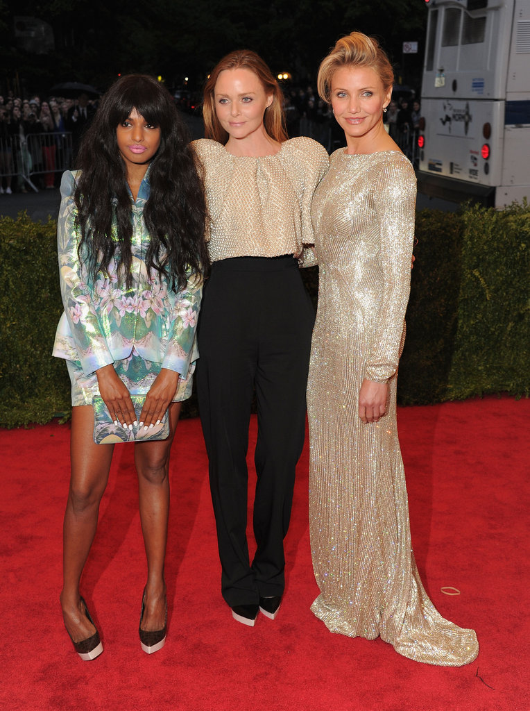 M.I.A, Stella McCartney and Cameron Diaz