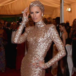 Metallic Trend at Met Gala 2012