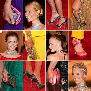 Shoes! Bag! Jewels! And a Turban! All the Celebrity Accessories from the 2012 Met Gala Red Carpet