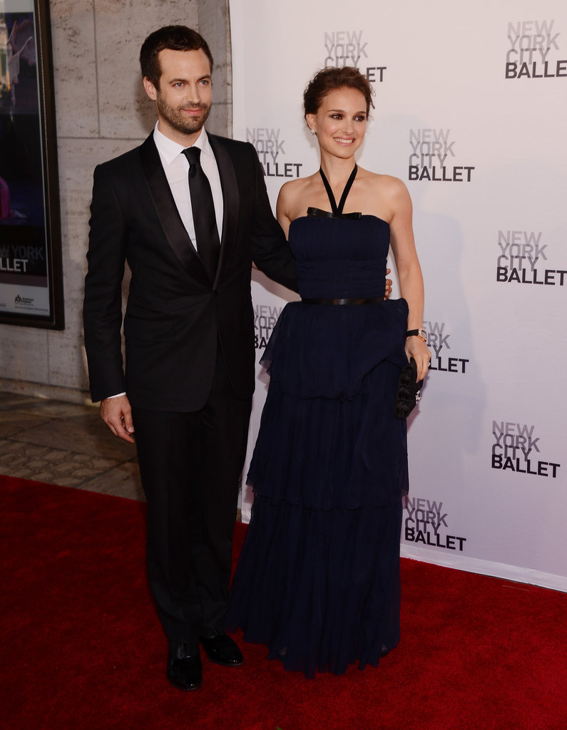Benjamin Millepied and Natalie Portman arrived at the New York City Ballet's 2012 Spring Gala.