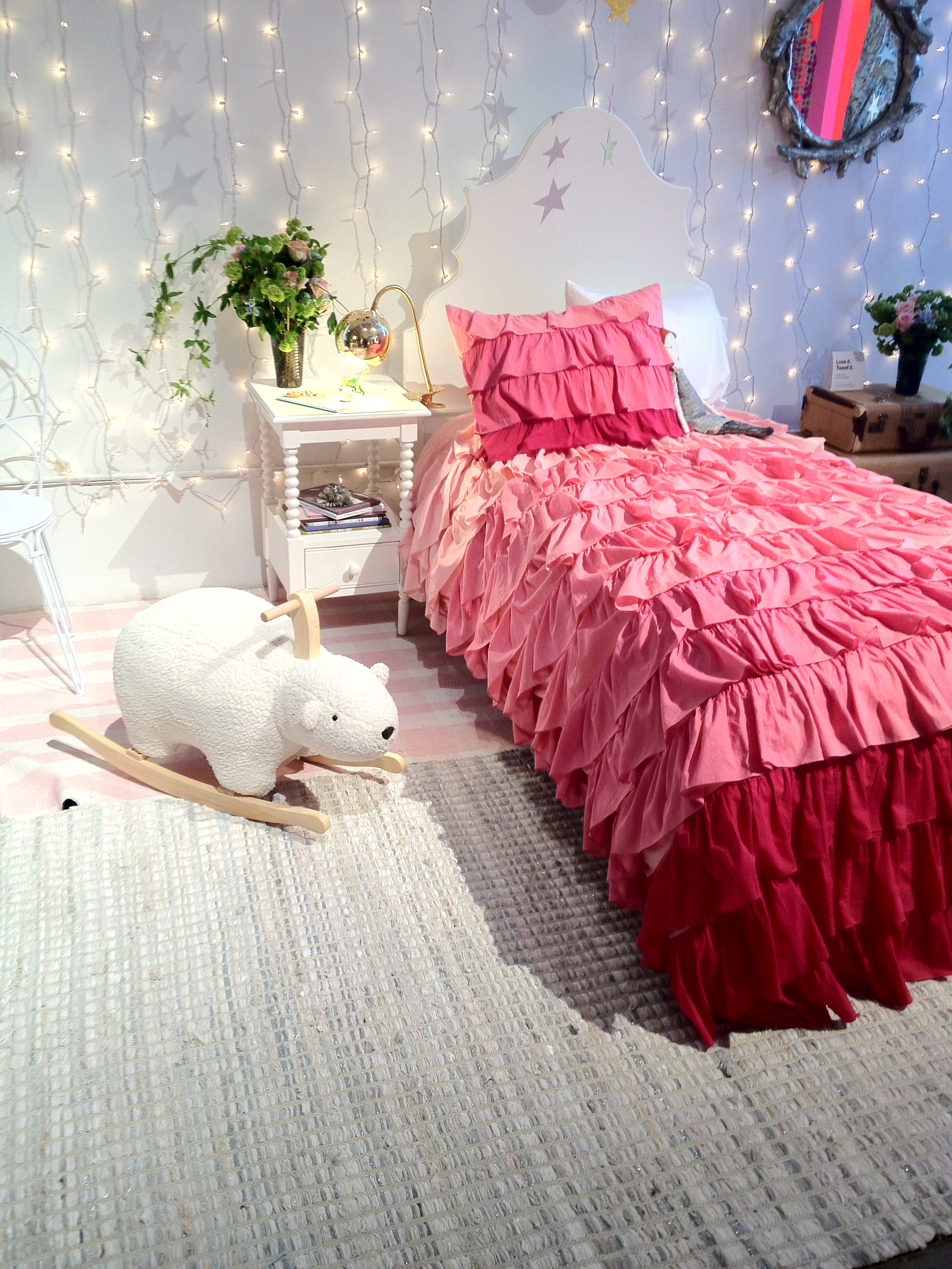 Soft and Quiet: Fade to Pink Bedding