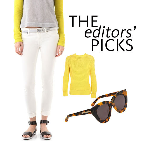 The Editors' Online Shopping List: Shop What We Want Now: Karen Walker, sass & bide, J Brand & more!
