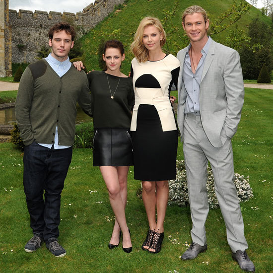 Kristen Stewart and Charlize Theron Get Sexy With Their SWATH Co-Stars