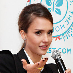 Jessica Alba Talks to Anderson Cooper About Motherhood