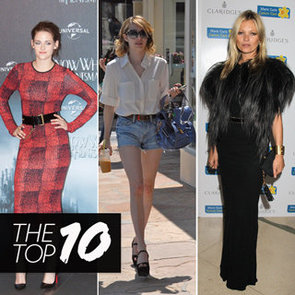 Top 10 Best Dressed Celebrities This Week Including Kate Moss, Mila Kunis And Rachel Bilson