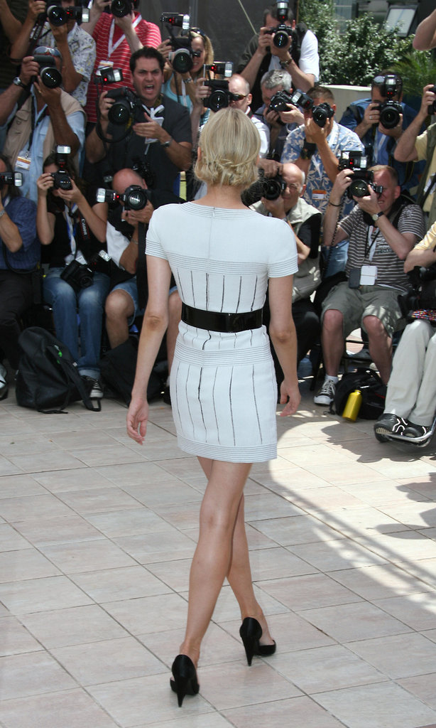 Here's an all-angles look at Diane Kruger's Chanel LWD at the 2007 Master of Ceremonies photocall.
