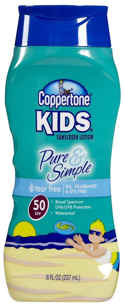 Drugstore Find: Coppertone Kids Pure & Simple Sunscreen Lotion
