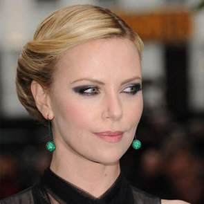 Charlize Theron's Smoky Cat-Eye